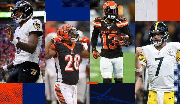 Division Preview AFC North: Ravens, Bengals, Browns, Steelers im Überblick