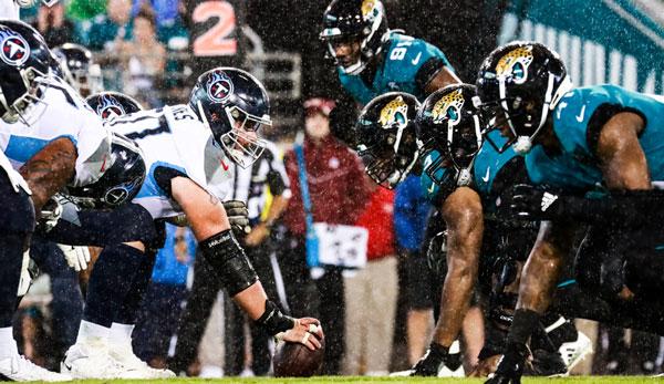 Die Jacksonville Jaguars schlugen die Tennessee Titans zum Auftakt von Week 3 der NFL-Saison 2019.