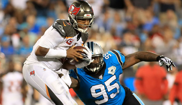 Carolina Panthers vs. Tampa Bay Buccaneers 14:20 - Bucs ringen Panthers in Abwehrschlacht nieder