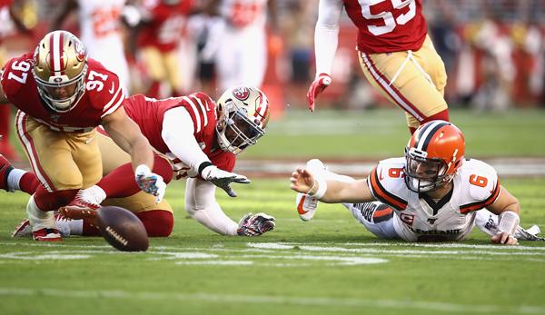 NFL Recap: San Francisco 49ers vs. Cleveland Browns - 4-0! Niners überrennen Browns und bleiben ungeschlagen