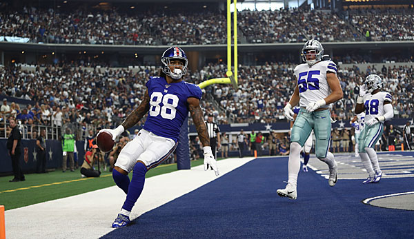 NFL Coin Toss Week 9: Wie können die Giants die Cowboys ärgern?