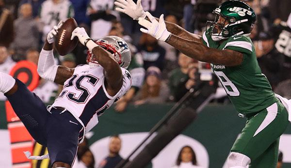 NFL Recap: New York Jets vs. New England Patriots 0:33 - Unerbittliche Patriots zerstören überforderte Jets