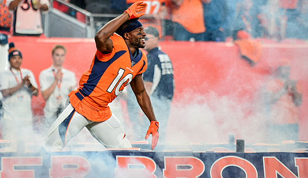 NFL-News: Denver Broncos traden Emmanuel Sanders zu den San Francisco 49ers