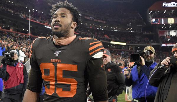 Kommentar zur Schlägerei zwischen den Browns und Steelers: Garrett sollte dieses Jahr nicht mehr spielen!