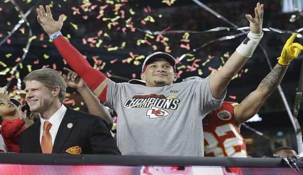 Patrick Mahomes wurde im Februar 2020 zum Super Bowl MVP gewählt.