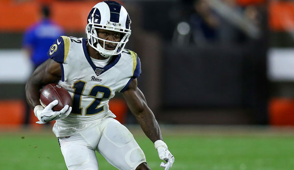 NFL: Houston Texans holen Brandin Cooks per Trade von Los Angeles Rams