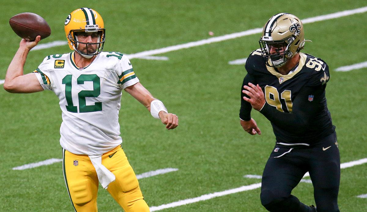 NFL Recap: New Orleans Saints vs. Green Bay Packers 37:30 - Rodgers zaubert auch in NOLA, Packers weiter ungeschlagen