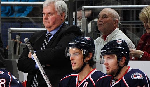 Ken Hitchcock war seit November 2006 Trainer bei den Columbus Blue Jackets