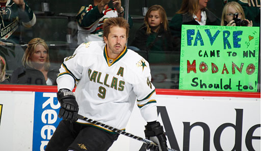 Mike Modano war der Nr.1-Pick der Minnesota North Stars im Draft 1988