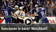 Vancouver Canucks, Boston Bruins, Stanley-Cup-Finals, Spiel 5, Video