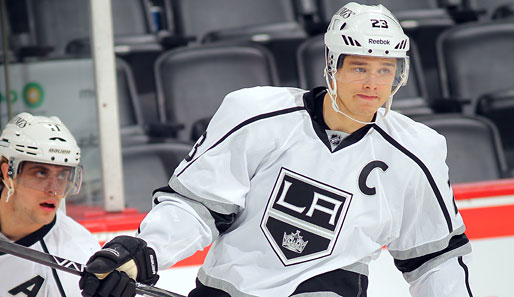 Dustin Brown und die Kings gewannen im United Center zu Chicago