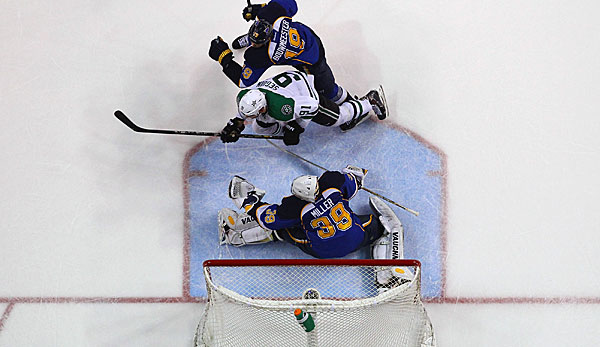 Die Dallas Stars bezwangen die St. Louis Blues