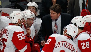 Mike Babcock holte mit den Detroit Red Wings 2008 den Stanley Cup