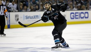 Dan Boyle scheiterte mit den Sharks in den Finals an den Penguins