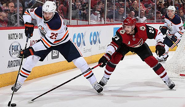 Arizona Coyotes vs Edmonton Oilers