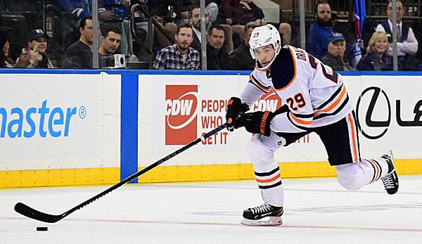 NHL: Erste Niederlage für Leon Draisaitl - Grubauer setzt Siegesserie fort