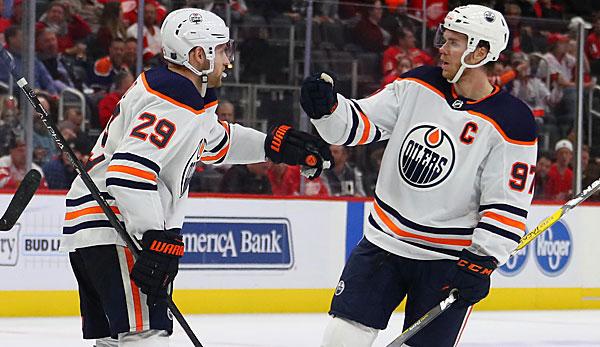NHL: Draisaitl mit vier Scorerpunkten - auch Greiss überragend