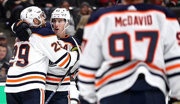 NHL: Nächster Sieg, fünf Vorlagen: Leon Draisaitls Show geht weiter