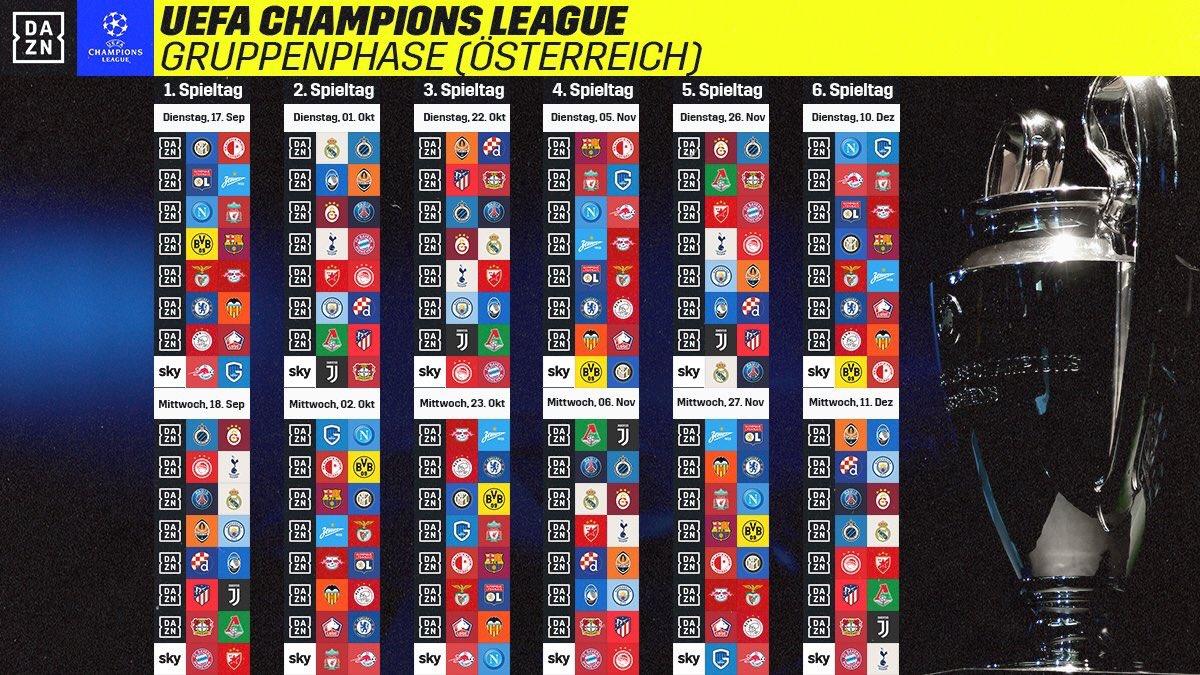 Spielplan Uefa