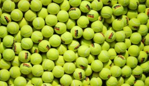 NEW YORK, NY - SEPTEMBER 01: Tennis balls are seen on Day Two of the 2015 US Open at the USTA Billie Jean King National Tennis Center on September 1, 2015 in the Flushing neighborhood of the Queens borough of New York City. (Photo by Streeter Lecka...