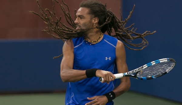 DUSTIN BROWN (GER) Tennis - US Open 2016 - Grand Slam ITF / ATP / WTA - Flushing Meadows - New York - New York - USA - 30 August 2016.