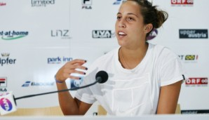 LINZ,AUSTRIA,11.OCT.16 - TENNIS - WTA Tour, Generali Ladies Linz. Image shows Madison Keys (USA). Photo: GEPA pictures/ Matthias Hauer