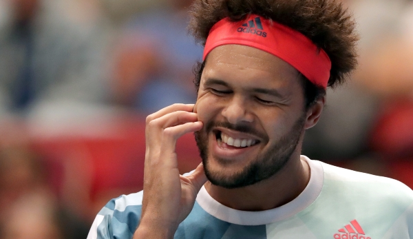 VIENNA,AUSTRIA,28.OCT.16 - TENNIS - ATP World Tour, Erste Bank Open. Image shows Jo-Wilfried Tsonga (FRA). Photo: GEPA pictures/ Walter Luger