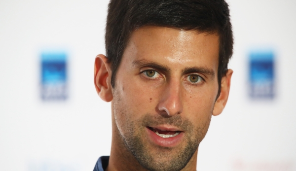 LONDON, ENGLAND - NOVEMBER 11: Novak Djokovic of Serbia speaks with the media during a press conference prior to the Barclays ATP World Tour Finals at O2 Arena at O2 Arena on November 11, 2016 in London, England. (Photo by Clive Brunskill/Getty Ima...