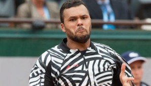 Jo-Wilfried Tsonga (FRA) Tennis - French Open 2016 - Grand Slam ITF / ATP / WTA - Roland Garros - Paris - - France - 24 May 2016.