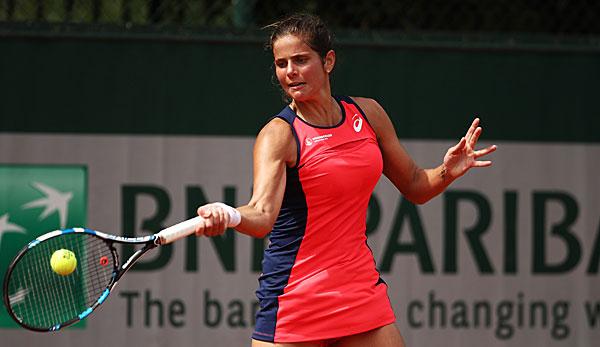 French Open: Rasches Aus für top gesetzte Kerber