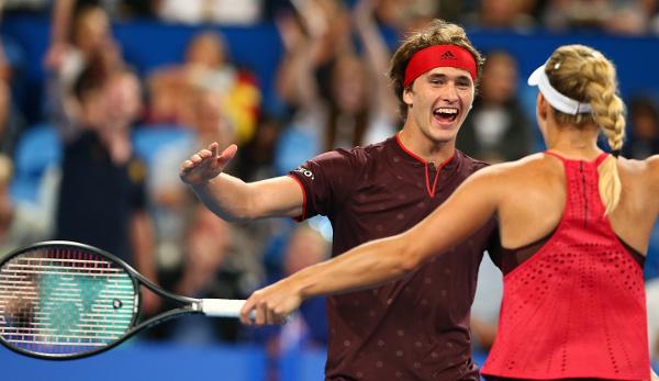 Deutsches Tennis-Team: Hopman-Cup-Finale gegen die Schweiz