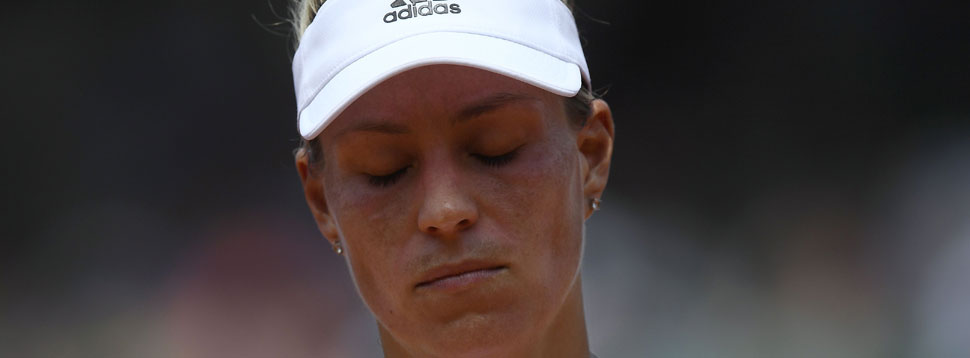 Ratlos in Paris: Angelique Kerber