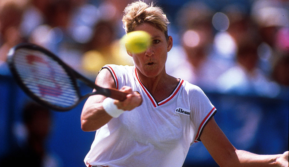 Platz 9: Chris Evert (USA) - US Open: 6 Titel