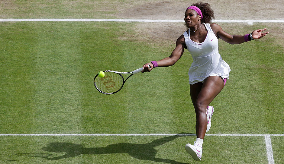 Platz 3: Serena Williams (USA) - Wimbledon: 7 Titel