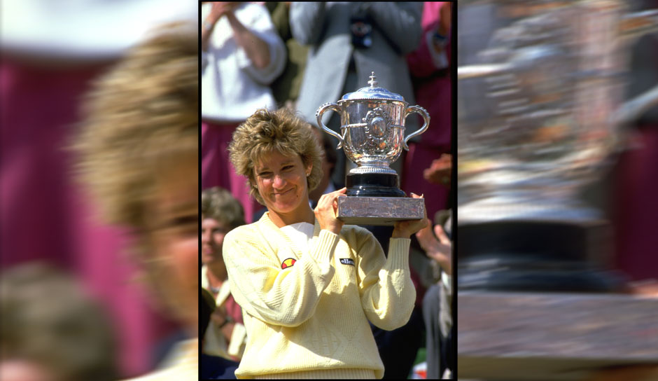 Platz 3: Chris Evert (USA) - French Open: 7 Titel