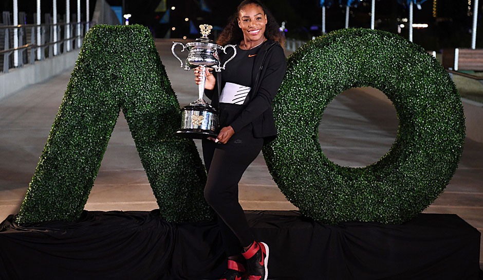 Platz 3: Serena Williams (USA) - Australian Open: 7 Titel