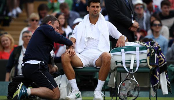 Murray abserviert, Djokovic gab auf, nur Federer ist in Wimbledon ein Ass