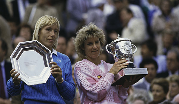 Chris Evert hat die French Open sieben Mal gewonnen.