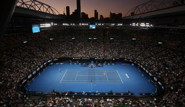Die Rod-Laver-Arena ist der Hauptcourt der Australian Open