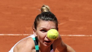 Simona Halep mitten im Funny Old Game