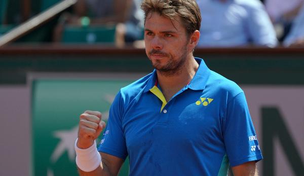 Murray und Wawrinka bei French Open in Runde drei
