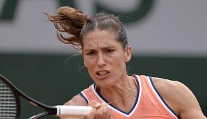 Andrea Petkovic am Montag in Paris