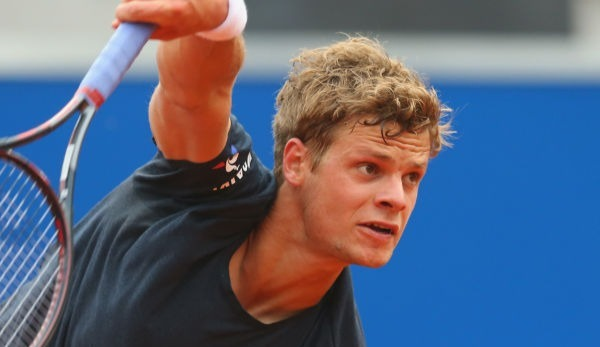 Yannick Hanfmann in French-Open-Quali in Runde zwei