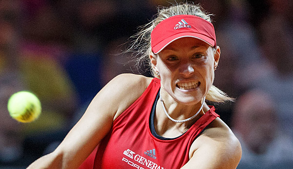 Volle Power Richtung Turnierstart: Angelique Kerber