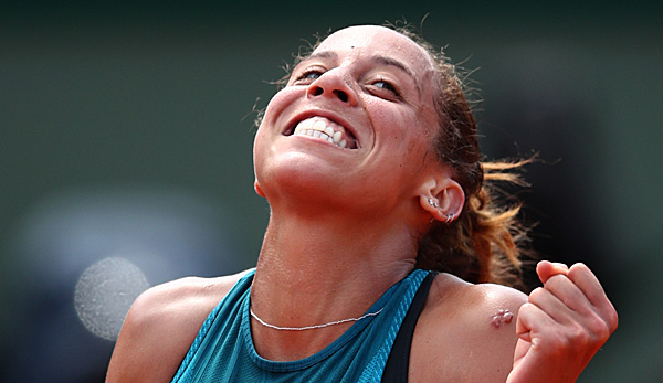 Madison Keys geht als Favoritin in ihr Dienstags-Match