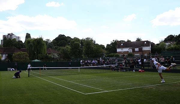 Wimbledon Qualifikation