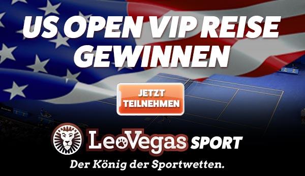 Gratiswetten bei LeoVegas zu den US Open
