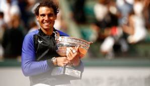 Rafael Nadal will seinen 11. Titel in Paris