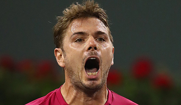 Stan Wawrinka feiert in Indian Wells eine Premiere
