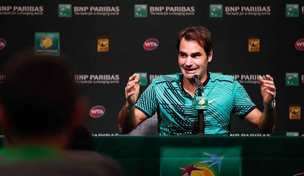 Roger Federer schlägt Rafael Nadal in Indian Wells